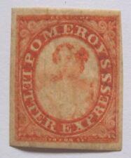 Mint 1844 US Local 117L5 Pomeroy's Red 4 Margins MNH OG