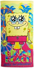 Spongebob Squarepants towel beach Wholesale lot of 6 only $9.50 each