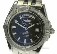 BREITLING Headwind A45355 Black Dial Automatic Men's Watch(a)_484895