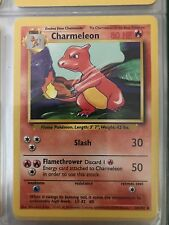 Very rare Charmeleon pokemon card