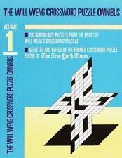 Will Weng Crossword Omnibus Volume 1 (Other)