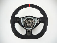 NISSAN 370z Juke Flat bottom part alcantara thumbs INCLUDE Steering wheel