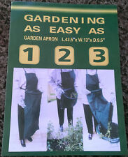 Gardening as Easy as 1 2 3 - Hands Free Plastic Garden Apron CLOSEOUT SALE ITEM