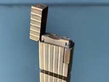 briquet ancien plaqué or dupont france vintage gold plated lighters collectable
