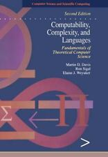 Computability, Complexity, and Languages, Second Edition: Fundamentals of Theore