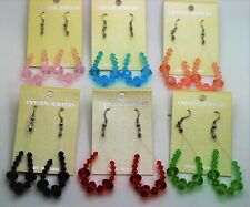 wholesale jewelry lot simply style crystal beads drop/dangle fashion earrings