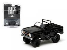 1970 FORD BRONCO 4X4 BLACK BANDIT 1/64 DIECAST MODEL CAR GREENLIGHT 27750A