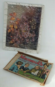 Mammoth Brand Jigsaw Puzzle WW1 Period - 95 Pieces Autumn Nosegay Maude Angell
