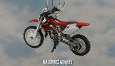 Honda CR250R Motorcycle Dirt Bike 250 Custom Christmas Ornament 1:32 124cc CR250