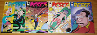Reset #1-4 VF/NM complete series - peter bagge - dark horse comics 2 3 set lot