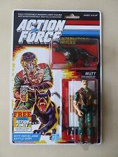 Action Force / GI Joe Mutt & Junkyard MOC Carded Custom Sticker Offer