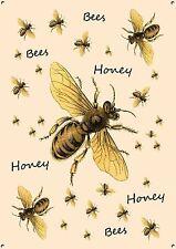 """""""le api mellifere"""" METAL SIGN, Collezionabile, COTTURA, Vintage, Retrò, SMALTO, No. 491"""