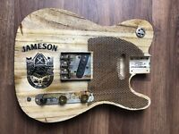 Pistols Crown Guitars Barncaster Telecaster Relic BODY ONLY Natural Jameson