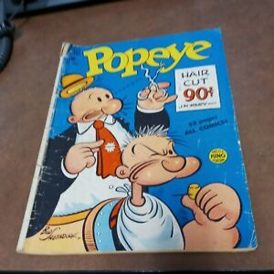 Popeye #11 Golden age dell comics 1950 precode cartoon hero super book! Classic!