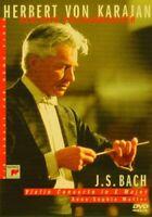 Herbert Von Karajan: Bach - Violin Concerto [DVD] [1998] -  CD L7VG The Fast