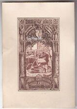 Ex Libris - Bücher-Sammlung Johannes Merck Dokument Grafik Emie Horst Wappen