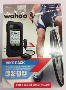 WAHOO FITNESS I-PHONE POWERED BIKE COMPUTER SYSTEM NEW OLD STOCK