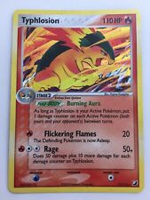 Pokemon Typhlosion Ex Unseen Forces Set Holo Rare Card (17/115)