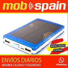 SUPER CARGADOR SOLAR BATERIAS MOVILES MICRO USB iPAD iPHONE SAMSUNG 10000 MAH