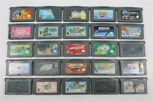 Discounted Lot of 25 Game Boy Advance Games- Sonic Advance 2, Digimon, Spyro