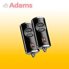 2x Hörmann BISECUR HSE2 BS 868 Mhz Télécommande manuelle (compatible avec Bleu