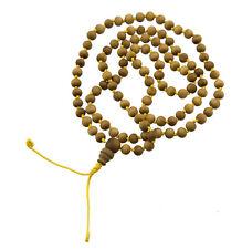Chapelet Mala tibetain imitation Bois de Santal Ø6mm collier bouddhiste 25626 S3