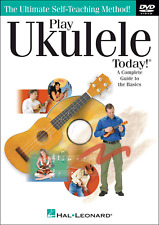 LEARN HOW TO PLAY UKULELE DVD Easy Teach Yourself Method Tutor Beginners