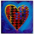 """Simon Bull HAND SIGNED Limited Ed. """"It's A Love Thing II"""" Canvas UK/US artist"""