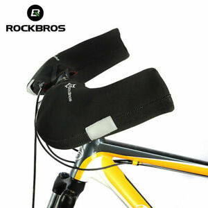 ROCKBROS Handlebar Gloves Mountain Bike Handlebar Mittens Windproof & Coldproof