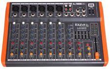 Table de mix DJ à 8 canaux extra compacte MX801 Ibiza sound