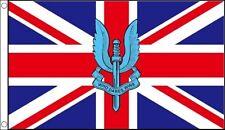 SAS FLAG 5' x 3' CEREMONIAL UNION JACK  Special Air Service Flags British Army