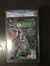 GREEN LANTERN CORPS # 8 / The new 52! / CGC Universal 9.8 / June 2012 / DC