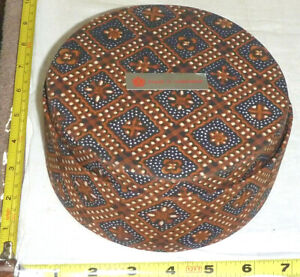"Set of 10 FABRIC Nesting BOWLS - INDONESIA - Largest ~6½"" Diameter - NEW"