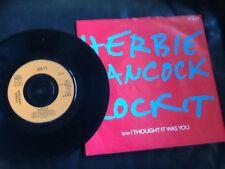 Herbie Hancock. Rockit/pensavo fosse SI. 1983.