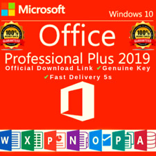 Microsoft®Office 2019 PRO PLUS 32/64 BIT LICENSE 🔐KEY