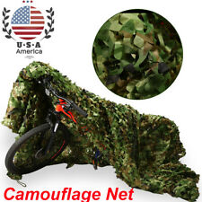5X23 Ft Woodland Shooting Hide Army Camouflage Net Hunting Cover Camo Netting Us