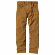 Basic Editions Women's Classic Fit Corduroy Pants Light Brown Size 8