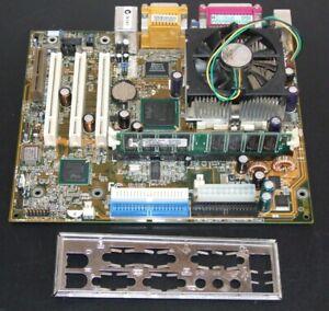 Gigabyte GA-6IWFL micro ATX motherboard w/ Intel Celeron 1.2GHz CPU & 256Mb Ram