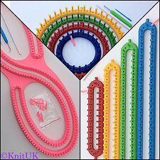 KnitUK Knitting Looms Jumbo Pack. S-Loom + Round Set + Long Set.