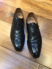 CROCKETT & JONES OXFORD – BLACK – UK 10 – HALLAM -