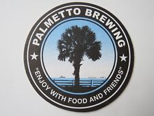 Beer Coaster ~ PALMETTO Brewing Co ~ Charleston, SOUTH CAROLINA ~ Enjoy Friends