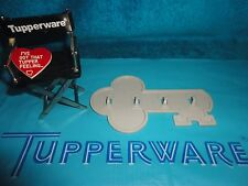 VINTAGE TUPPERWARE GRAY KEY RACK HANGING GADGET # 1453 JEWLERY, KITCHEN...
