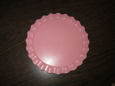 Fisher Price Fun with Food Birthday Create a Cake Pink Plate Bottom part only