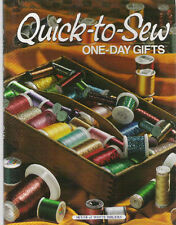 QUICK-TO-SEW ONE DAY GIFTS ~ PATTERNS ~ NEW ~ SALE
