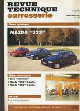 (6B)REVUE TECHNIQUE CARROSSERIE MAZDA 323