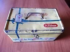 BISCOTTI al PLASMON - BISCOTTIERA del BEBE' scatola in latta