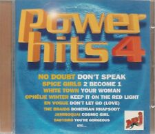 CD COMPIL 19 TITRES-POWER HITS 4--NO DOUBT/WINTER/MOISE