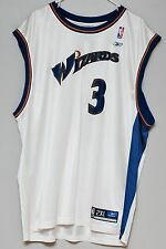 Vintage Juan Dixon Washington Wizards Screen Print Reebok Jersey ~ Size 2XL