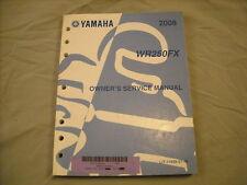 2008 Yamaha Service Manual WR250 WR250F WR250FX WR 250
