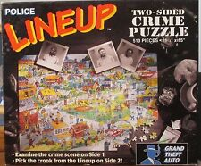POLICE LINE UP - GRAND THEFT AUTO (Complete) 2 SIDED PUZZLE